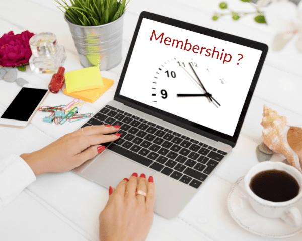 Wie ich es zeitlich schaffe, meinen ersten Membership aufzubauen